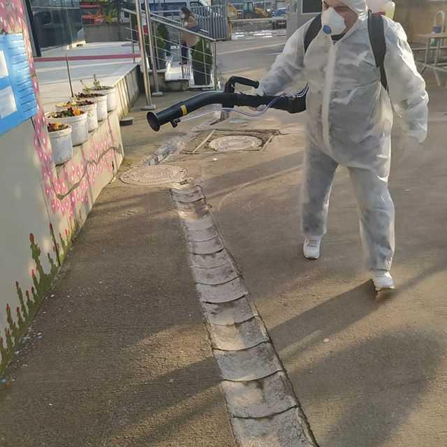 Yurt Dezenfektesi