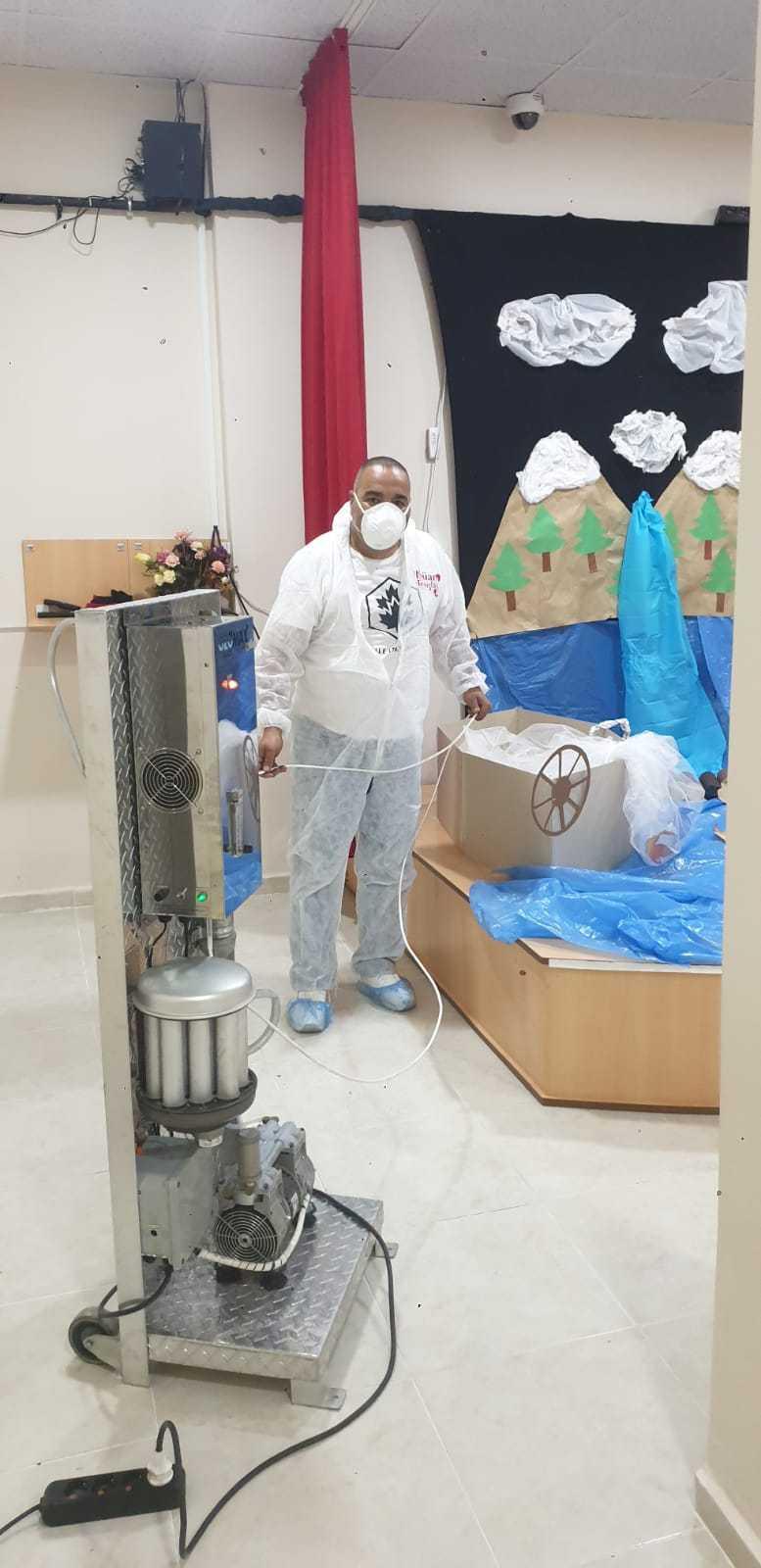 Ozon ile dezenfektan